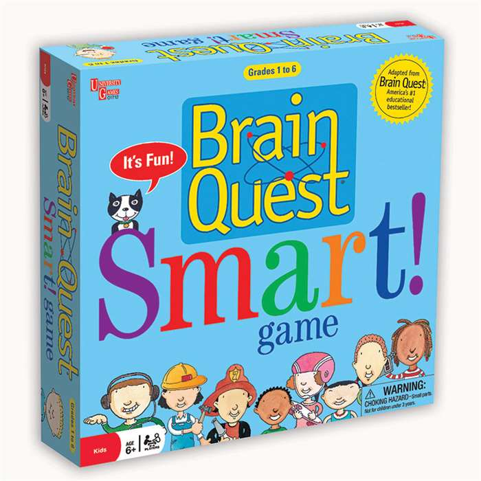Brain Quest Smart - Ug-01712 By University Games