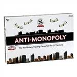 Anti-Monopoly Game - Ug-01851 By University Games