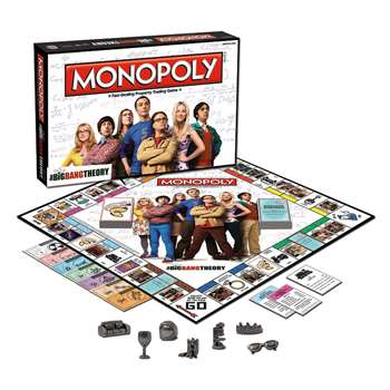 The Big Bang Theory Monopoly, USAMN010371