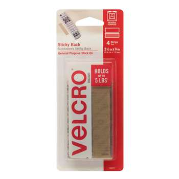Velcro Tape Strips 3/4 Beige - Vec90077 By Velcro Usa
