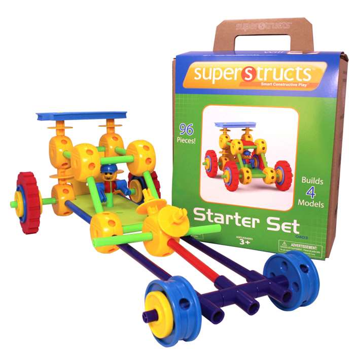 Superstructs Starter Set - Wab0403 By Waba Fun