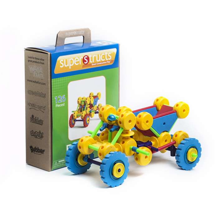 Superstructs Big Builder Set - Wab0504 By Waba Fun