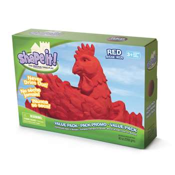Moon Sand Rocket Red 5 Lb Box, WAB130303