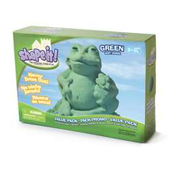 Moon Sand Galaxy Green 5 Lb Box, WAB130703