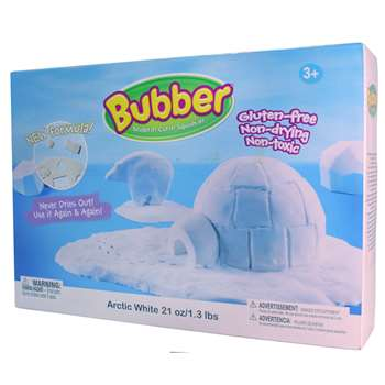 Bubber 21 Oz. Big Box White, WAB140015