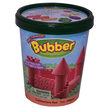 Bubber 7 Oz. Bucket Red, WAB140300