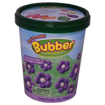 Bubber 7 Oz. Bucket Purple, WAB140500