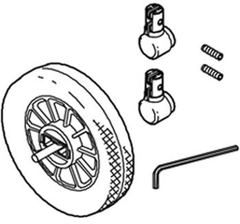 Front Wheel For Win433, Win434, Win438 & Win449, WIN50036