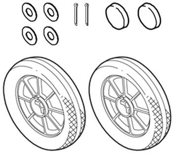 Rear Wheel W/ Ball Bearings, WIN50572