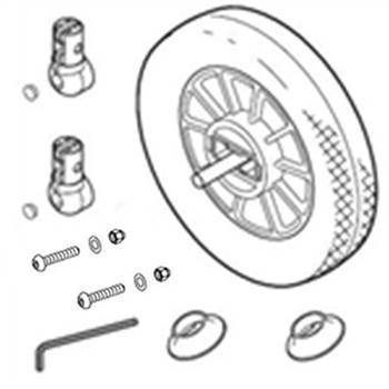 Rear Wheel Complete For Win538 Win539, WIN50922