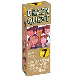Shop Brain Quest Gr 7 - Wp-16657 By Workman Publishing