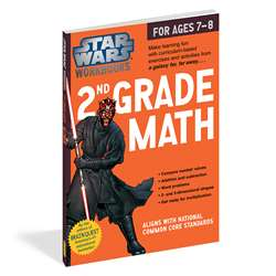 Star Wars Workbook Math Gr 2, WP-17809