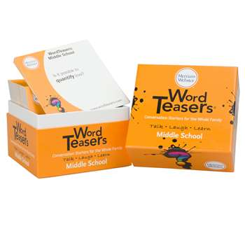 Wordteasers Conversation Starters Merriam-Webster , WT-0064