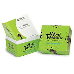 Wordteasers Flash Cards Sat Vobaculary - Wt-7205 By Word Teasers