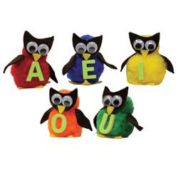 Monkey Mitt Set Vowel Owls, WZ-147