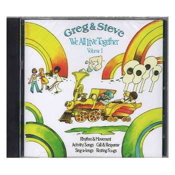 Shop We All Live Together Volume 1 Cd Greg & Steve - Ym-001Cd By Creative Teaching Press