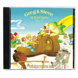 Shop We All Live Together Volume 3 Cd Greg & Steve - Ym-003Cd By Creative Teaching Press