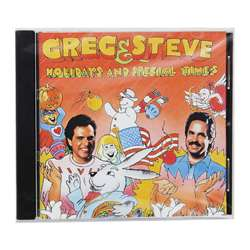 Shop Holidays & Special Times Cd Greg & Steve - Ym-009Cd By Creative Teaching Press