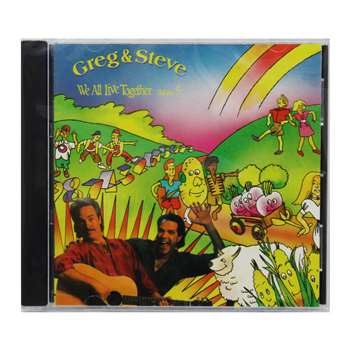 Shop We All Live Together Volume 5 Cd Greg & Steve - Ym-014Cd By Creative Teaching Press