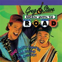 Shop Rockin Down The Road Cd Greg & Steve - Ym-015Cd By Creative Teaching Press