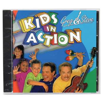 Greg & Steve Kids In Action Cd - Ym-017Cd By Greg & Steve Productions