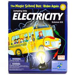 The Magic School Bus Jumping Into Electricity - Ys-Wh9251140 By The Young Scientist Club