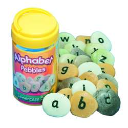 Shop Lowercase Alphabet Pebbles - Yus1000 By Yellow Door Us