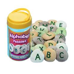 Shop Uppercase Alphabet Pebbles - Yus1009 By Yellow Door Us