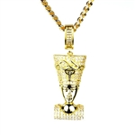 BRASS PENDANT & CHAIN SET / BCH 13127