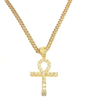 BRASS PENDANT & CHAIN SET / BCH 15767