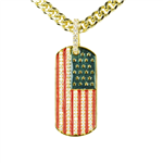 BRASS PENDANT & CHAIN SET / BCH 16678