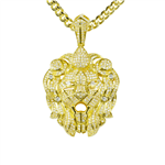 BRASS PENDANT & CHAIN SET / BCH 16680