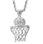 BASKET BALL PENDANT AND CHAIN SET / HC 5046