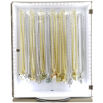 SMALL PENDANT AND CHAIN SET WITH LED DISPLAY / HH 105 D 2
