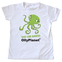 Green Octopus Toddler Tee