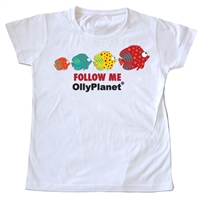 Follow Me Fish Toddler Tee