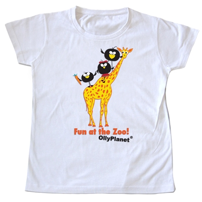 This toddler tee is perfect for a day at the zoo.