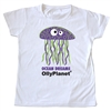 This purple jelly fish toddler tee is too cute!