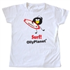 Olly Surf tshirt for toddlers! Available on OllyPlanet.com