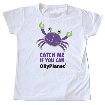 """Catch Me If You Can"" Toddler Tee"