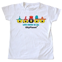 We love this toddler tee with all the colorful hats!