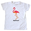 An adorable pink flamingo toddler tee!