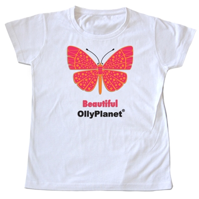 This beautiful butterfly design is perfect for the girl toddler in your life.