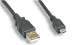 WholesaleCables.com 3ft USB A Male to MICRO B 5M 3FT 28+26AWG