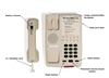 Med-Pat Single-line Hospital Hotel Motel Phone D-5500H