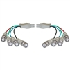 10B1-06125 25ft BNC x 4 Male to BNC x 4 Male Cable Double-Shielded