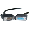 WholesaleCables.com 10CO-01206 6ft Cisco Compatible Serial Cable HD60 Male to DB15 Female Equivalent to CAB-X21FC-6