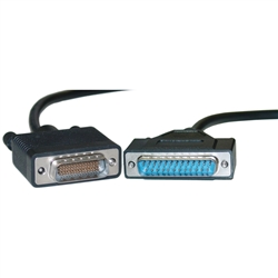WholesaleCables.com 10CO-02106 6ft Cisco Compatible Serial Cable HD60 Male to DB25 Male Equivalent to CAB-232MT-6