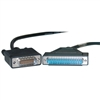 WholesaleCables.com 10CO-03110 10ft Cisco Compatible Serial Cable HD60 Male to DB37 Male Equivalent to CAB-449MT-3M