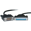 WholesaleCables.com 10CO-03210 10ft Cisco Compatible Serial Cable HD60 Male to DB37 Female Equivalent to CAB-449FC-3M